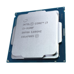 CPU Intel Core i3-9100F